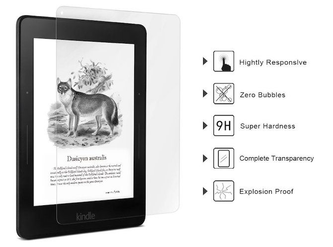 kindle cases voyage screen protector