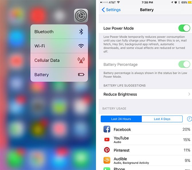 How to Save Battery in iOS With This Low Power Mode Trick low battery mode