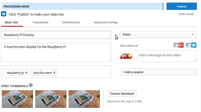 Everything You Need To Know About Uploading Videos To YouTube muo creative youtubeuploadsrw upload new