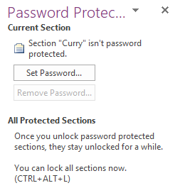 How to Keep Your OneNote Notes Secret and Safe password protect onenote add password