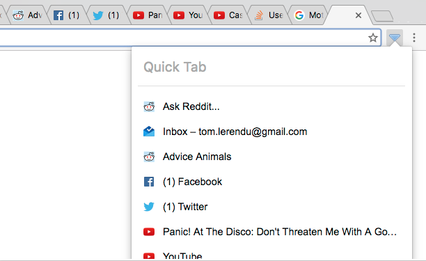 The 10 Best Extensions for Chrome Tab Management quick tab