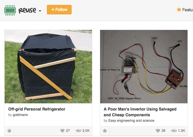 reuse instructables