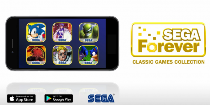 You Can Now Play Classic Sega Games on Your Smartphone