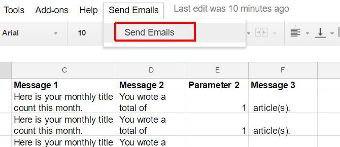 send email google scripts