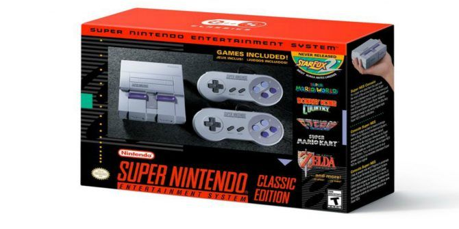Nintendo Launches the Super NES Classic Edition