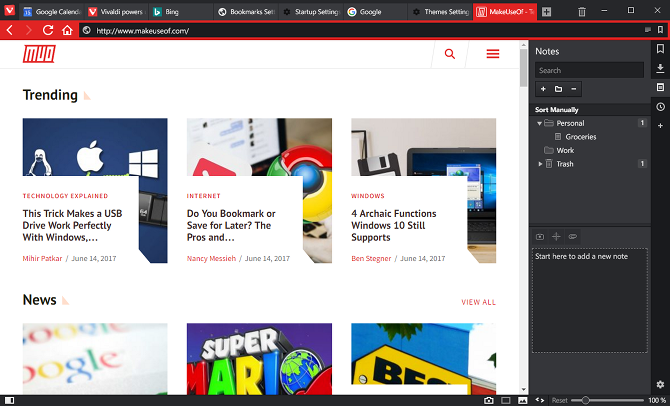 9 Reasons to Switch to Vivaldi Browser Today vivaldi browser notes