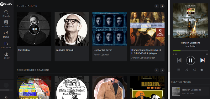 10 Free Pandora Alternatives We Give the Thumbs-Up web player spotify