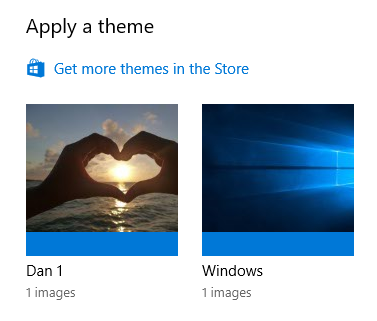 windows 10 apply a theme