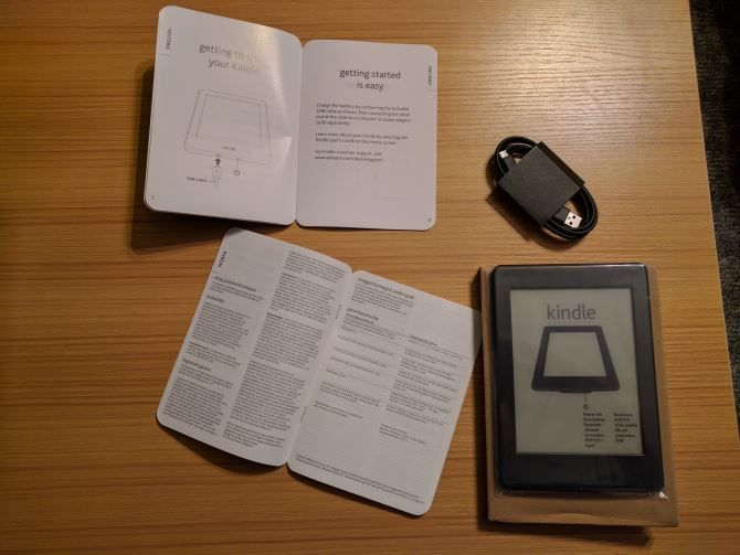 How to Set Up and Use Your Kindle Paperwhite 01 Paperwhite Box Contents