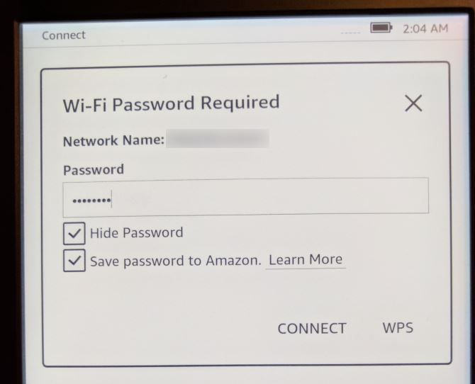 How to Set Up and Use Your Kindle Paperwhite 03 Paperwhite Connect to WiFi