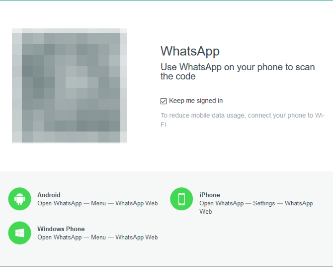 whatsapp web code