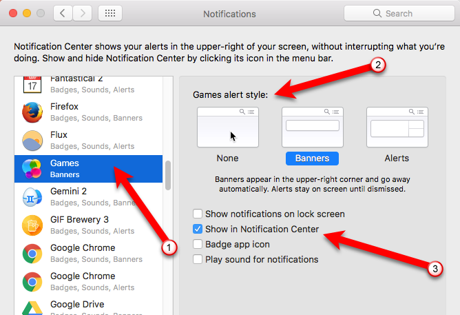 How to Use (and Disable) Game Center on Mac & iOS 10 Adjusting notifications on Mac