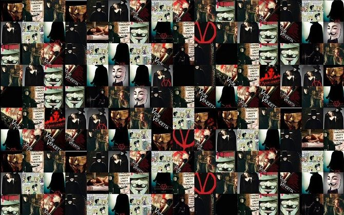 anonymous masks