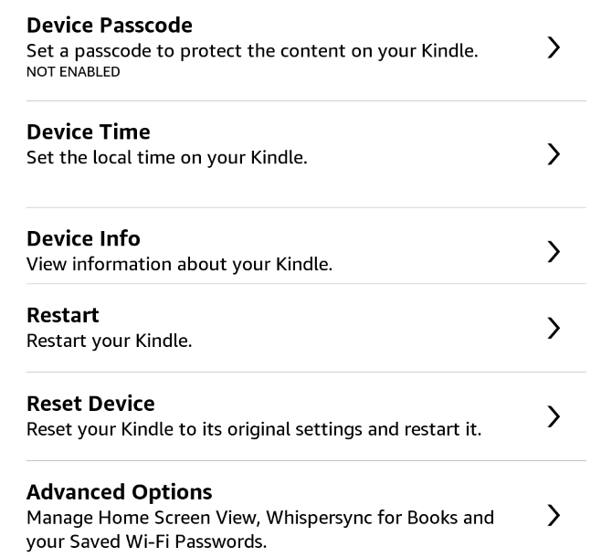 How to Set Up and Use Your Kindle Paperwhite 26 Paperwhite Device Options