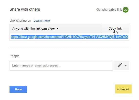 "Use This ""Make a Copy"" Trick When Sharing Google Drive Documents Google Drive Share With Others"