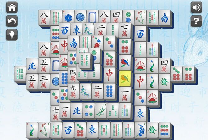 chrome mahjong solitaire