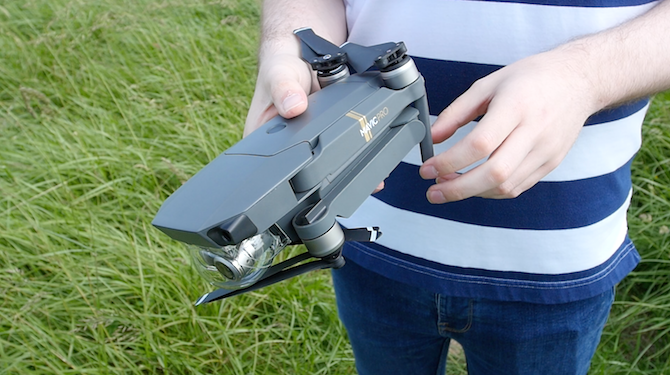 This Is the Drone You're Looking For: DJI Mavic Pro Review Mavic Folded