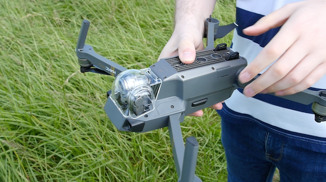 This Is the Drone You're Looking For: DJI Mavic Pro Review Mavic Undercarriage