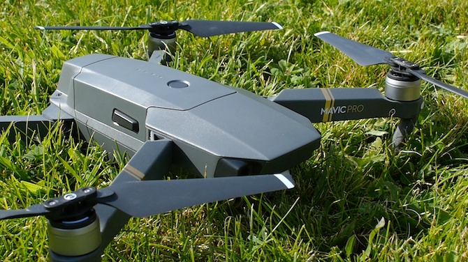 This Is the Drone You're Looking For: DJI Mavic Pro Review Mavic Unfolded