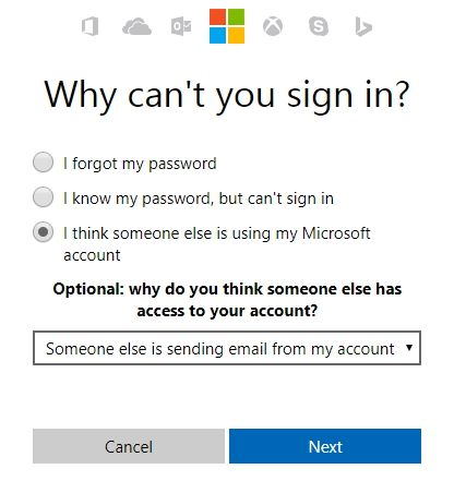 Avoid This Email Forwarding Mistake in Outlook.com Microsoft Account Reset Password