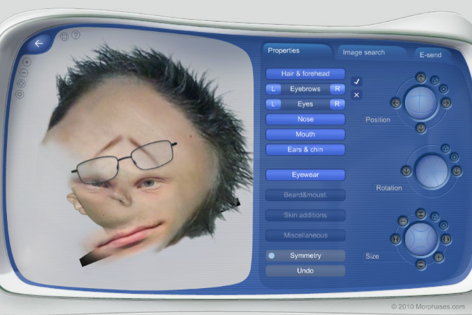 Use Morphases to Create a Realistic Face Online Morphases Abomination