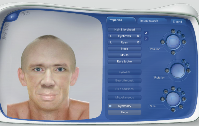 Use Morphases to Create a Realistic Face Online Morphases Face Editor