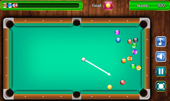 pool billiard html5