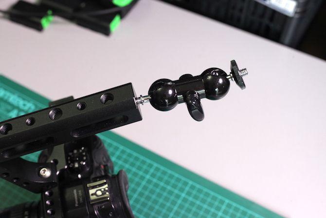 camera rig ballhead