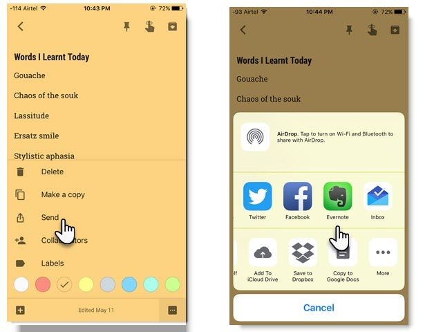 How to Share Google Keep Notes With Other Apps on Your Phone Share