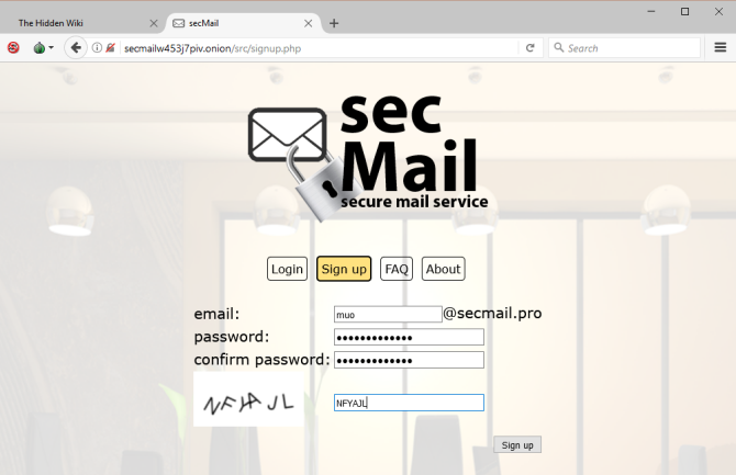 Really Private Browsing: An Unofficial User's Guide to Tor Tor Secmail login page