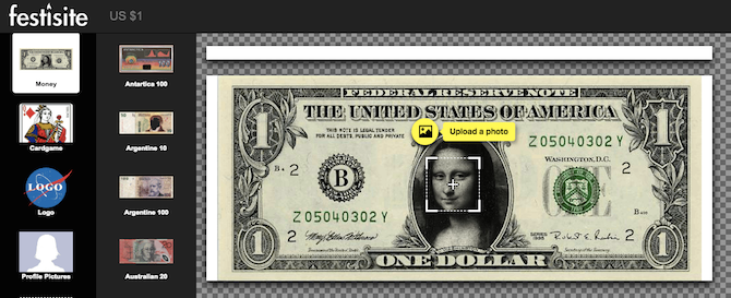 Personalized Money Generator Puts Your Face on Dollar Bills US Dollar