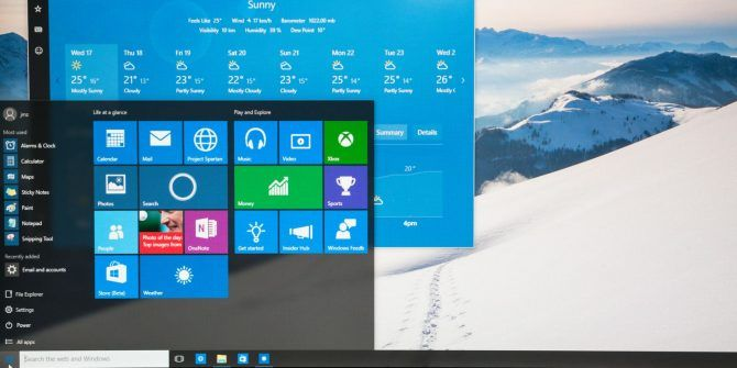 Use This Trick to Tweak Start Menu Transparency in Windows 10