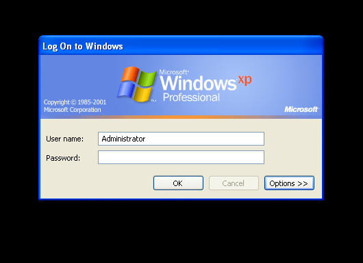 Reset Windows XP Password Using Ctrl Alt Del