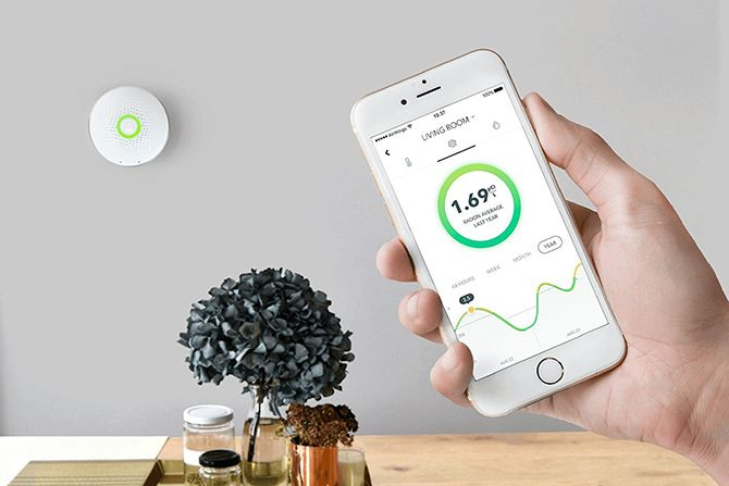 6 Smart Interior Air Quality Monitors You Should Buy For Your Home airthings wave