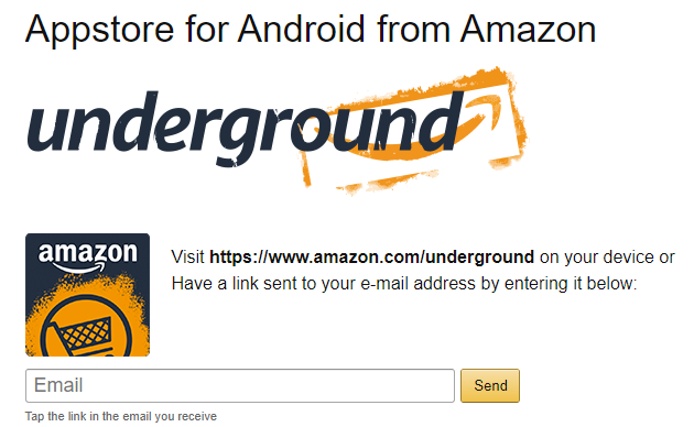 How to Install the Amazon Appstore on Android amazon appstore email