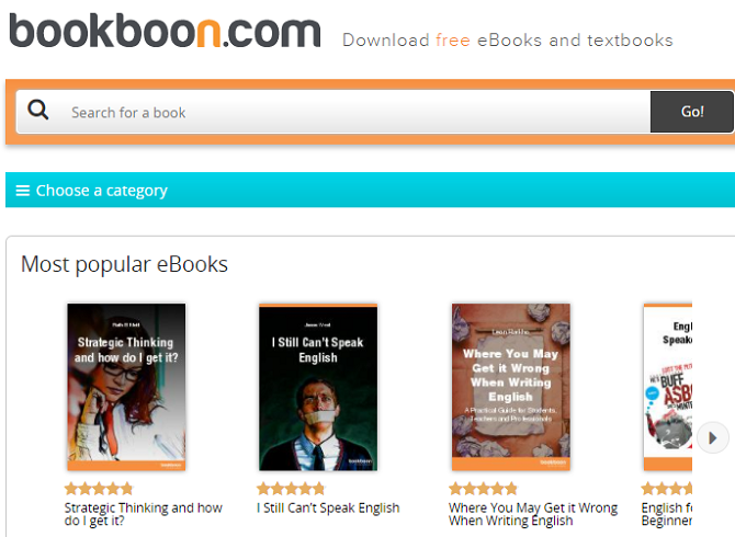 Download Free Ebooks for College Courses With Bookboon bookboon homepage 670x490