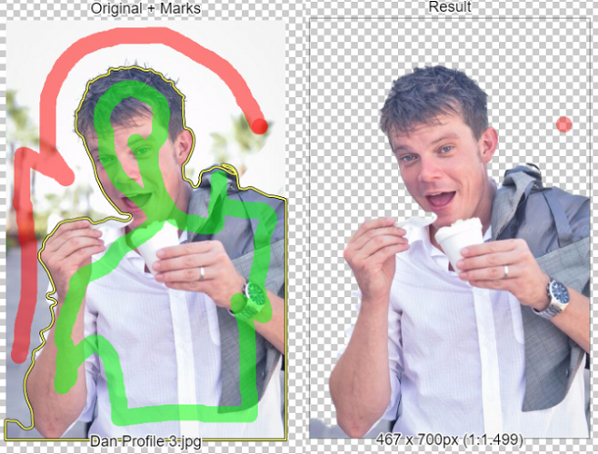 ClippingMagic Easily Removes the Background of Any Image You Have clippingmagic preview 658x500