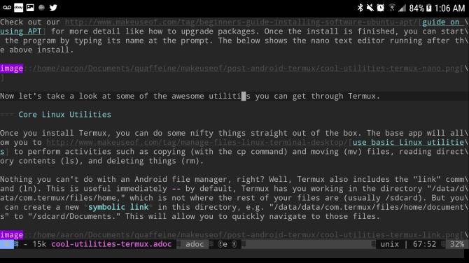 termux emacs android