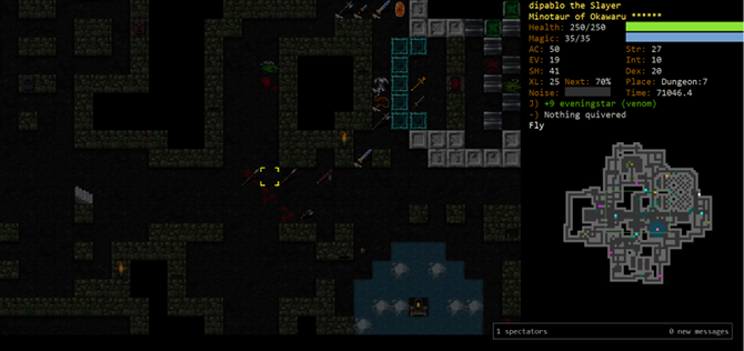 20 Best Open Source Video Games dungeon crawl stone soup open source