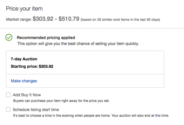 How to Estimate eBay Prices and Find Out What Items Are Worth eBay Pricing e1500309908386