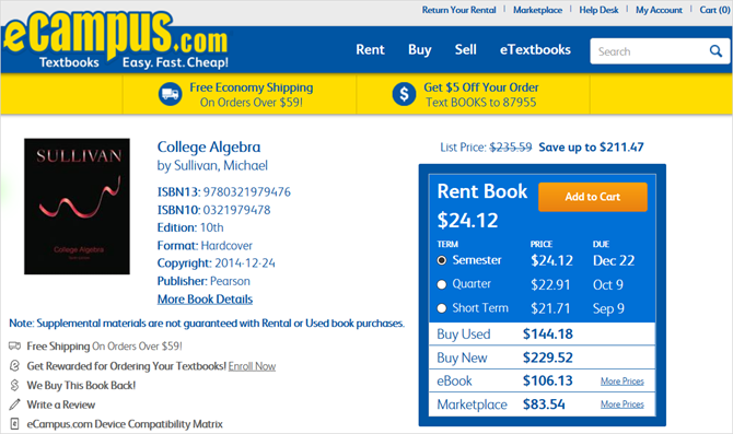 17 money saving websites for renting your textbooks this year ecampus rentals fandeluxe Gallery