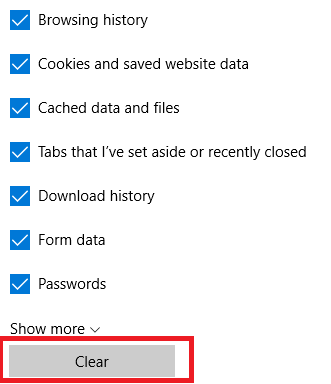How to Delete Browsing Data and History in Edge edge browsing data delete