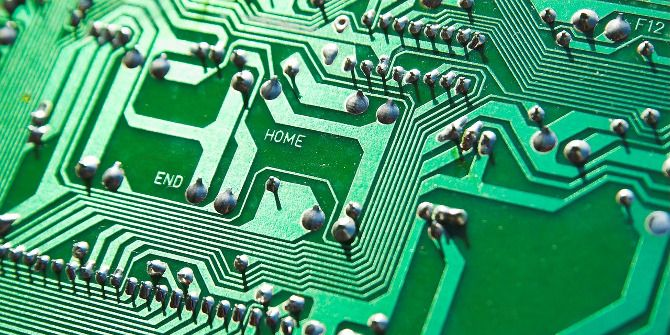 What Is Computer Science? electronic circuit board
