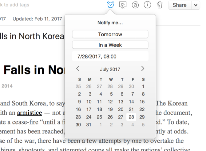 How to Use Evernote: The Unofficial Manual evernote reminder date