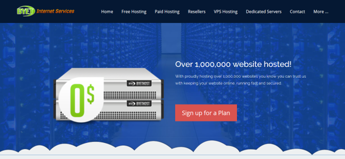 Top 7 Easy and Free Web Hosting Services free web host byethost