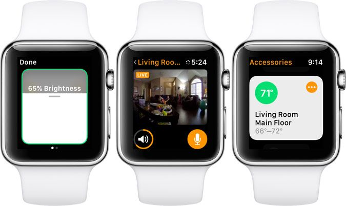 apple watch smart home app