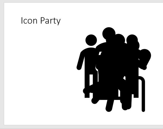 powerpoint icon party