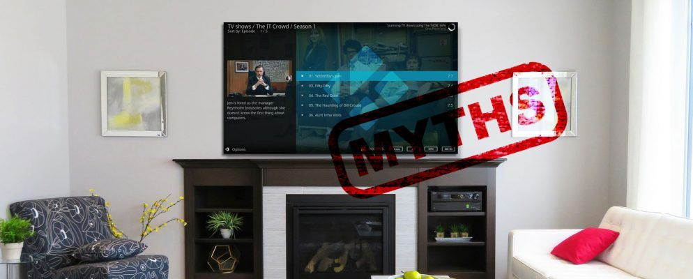7 of the Biggest Myths About Kodi, Debunked