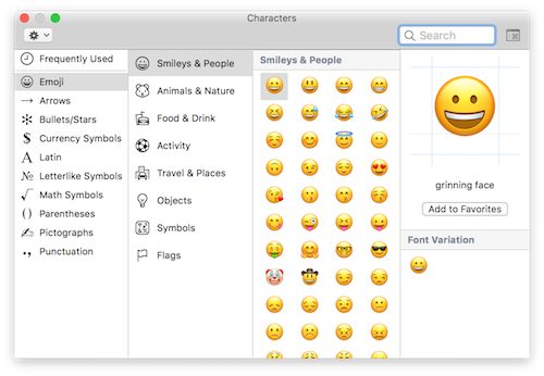 How To Type Emojis On A Mac