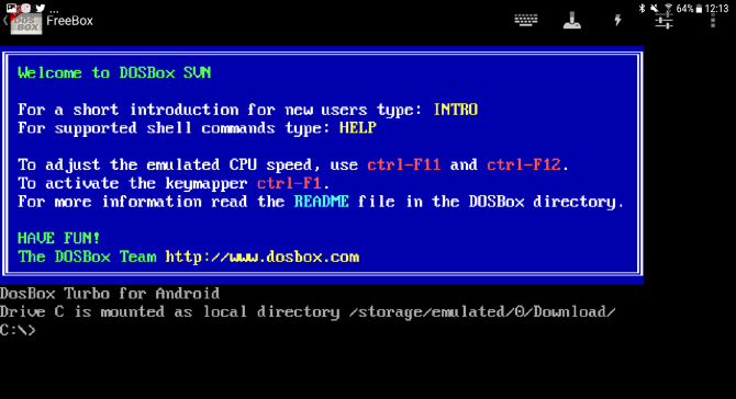 dosbox android